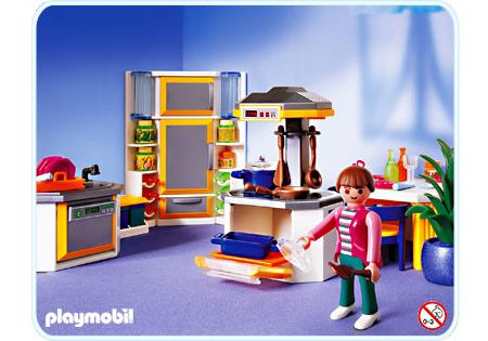 Cuisine Playmobil Cuisine Contemporaine 3968 A Playmobil France