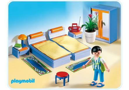 Schlafzimmer Playmobil Chambre Des Parents - 4284-a - Playmobil® France