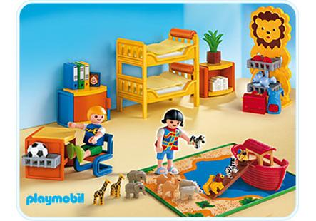 Playmobil Dollhouse Küche Chambre Des Enfants 4287 A Playmobil France