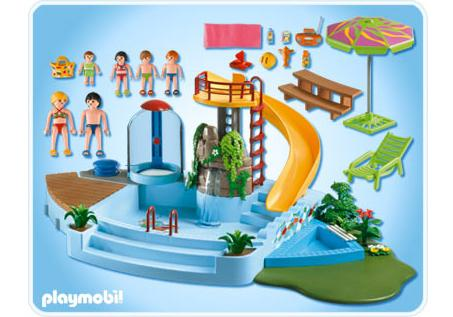 Zwembad Playmobil 4858 Playmobil Swimming Pool With Terrace Play Set Dibujos Para Colorear
