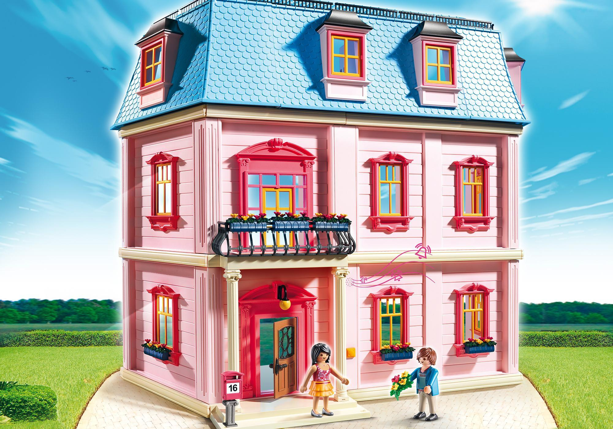 Eclairage Maison Playmobil Maison Traditionnelle 5303 Playmobil France