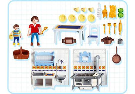 Cuisine Playmobil Famille Cuisine Traditionnelle 5317 A Playmobil France
