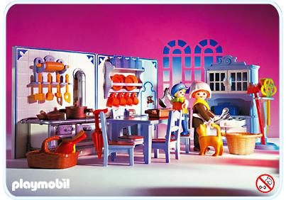 Cuisine Playmobil Cuisine 5322 A Playmobil France