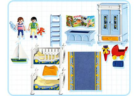Chambre Playmobil Enfants Chambre Traditionnelle 5328 A Playmobil France