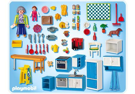 Cuisine Playmobil Cuisine 5329 A Playmobil France