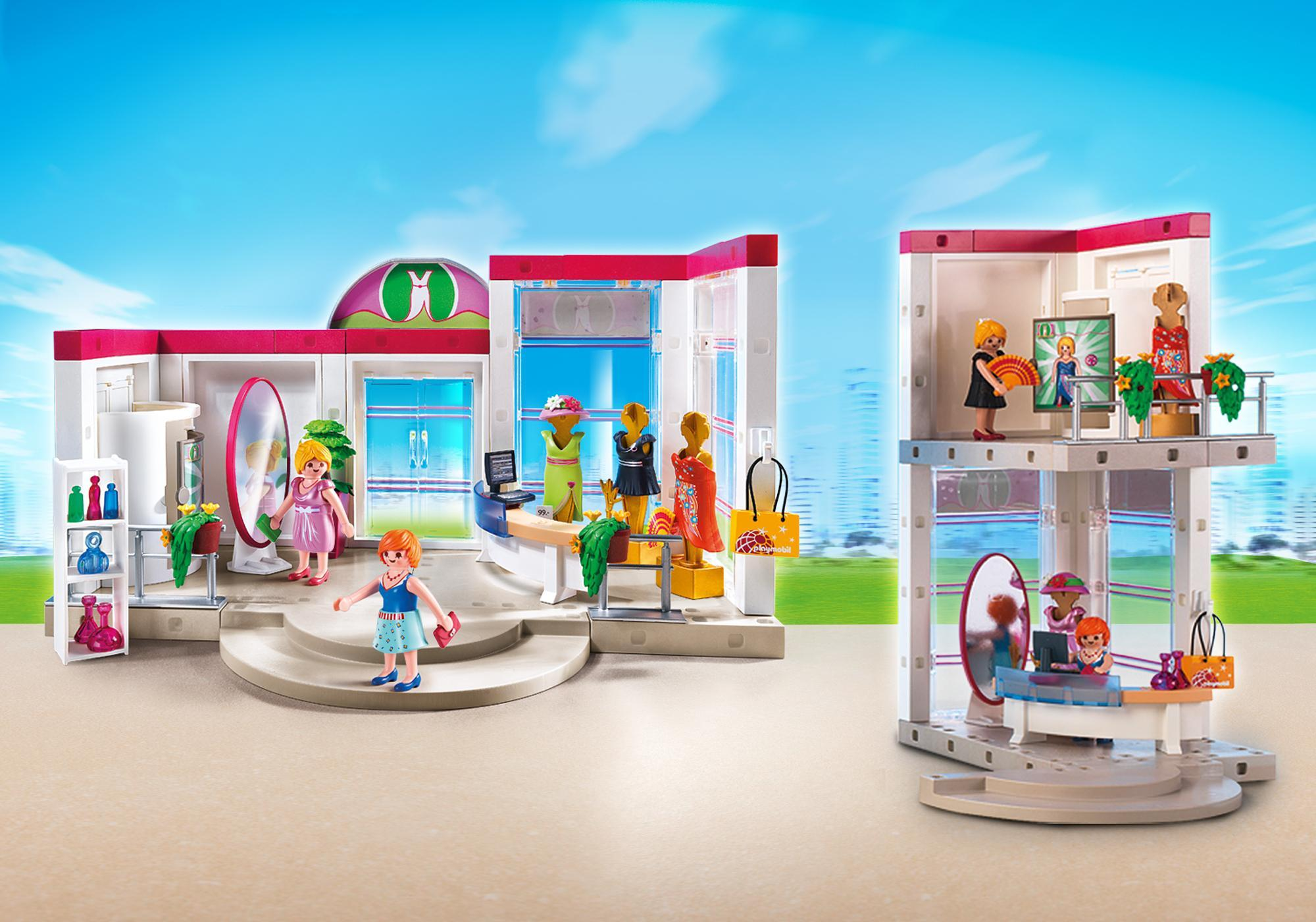 Dimension Cabine D Essayage Boutique De Vêtements 5486 Playmobil France