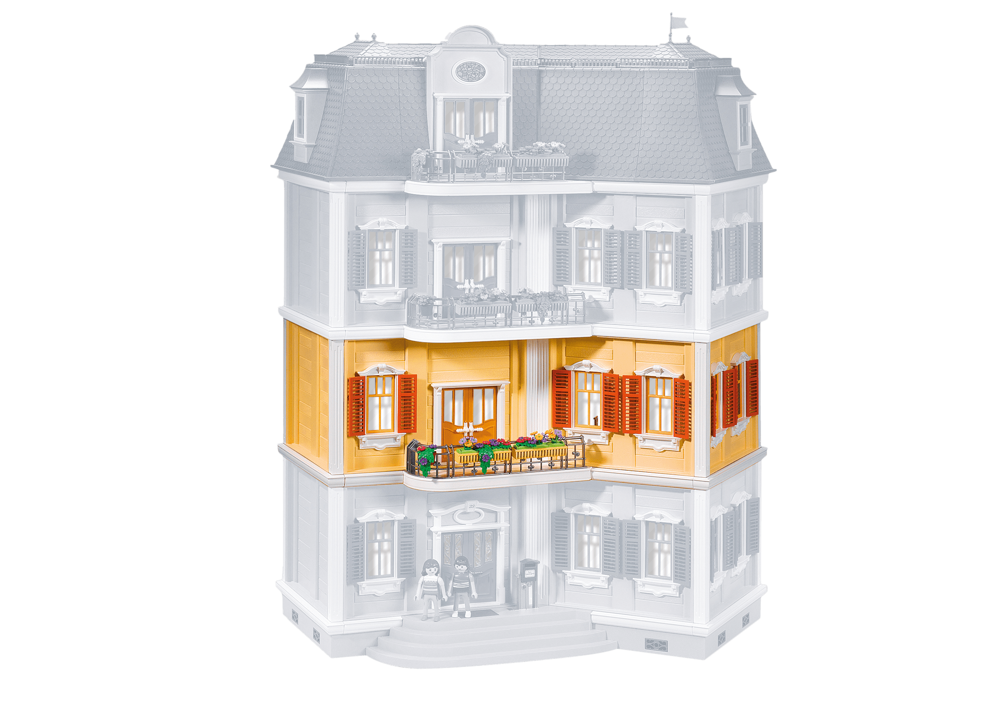 5302 Playmobil Floor Extension For Large Grand Mansion 5302 7483 Playmobil Usa