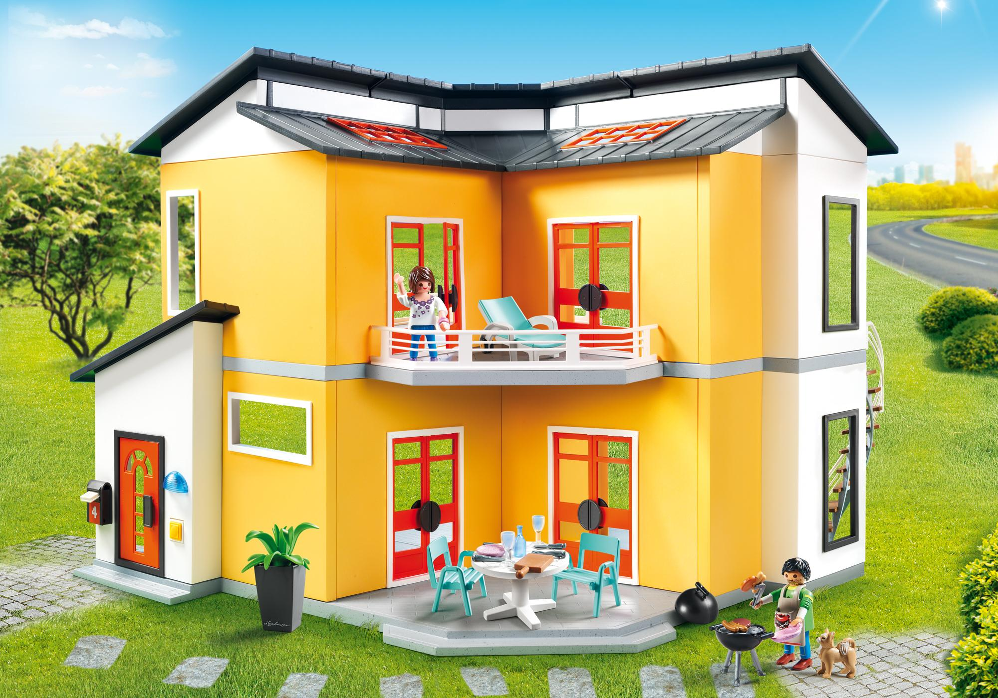 Eclairage Maison Playmobil Maison Moderne 9266 Playmobil France