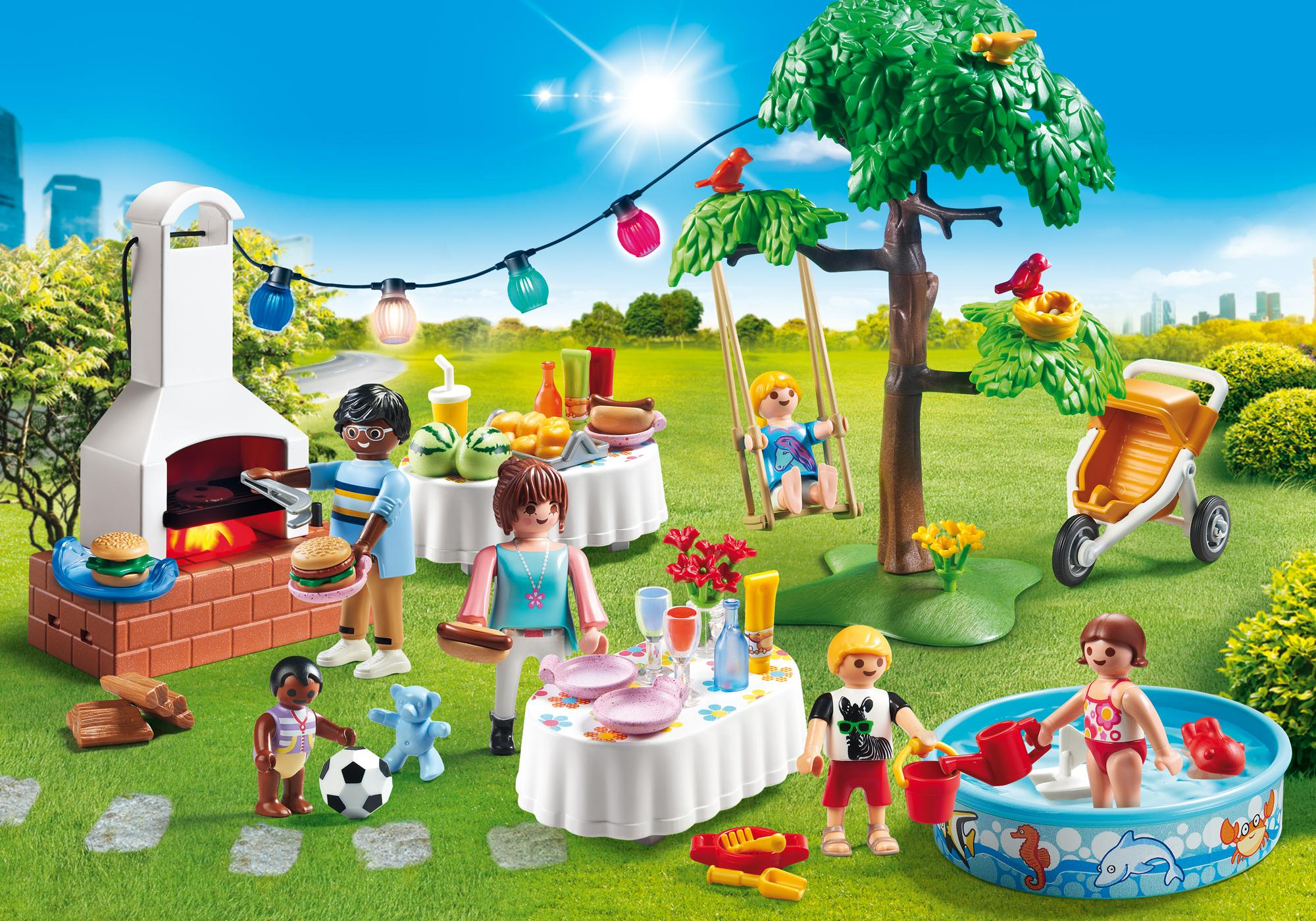 Playmobil City Life Küche 9269 Famille Et Barbecue Estival 9272 Playmobil Suisse
