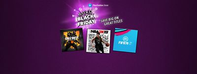 Black Week Sale Black Friday Week Playstation