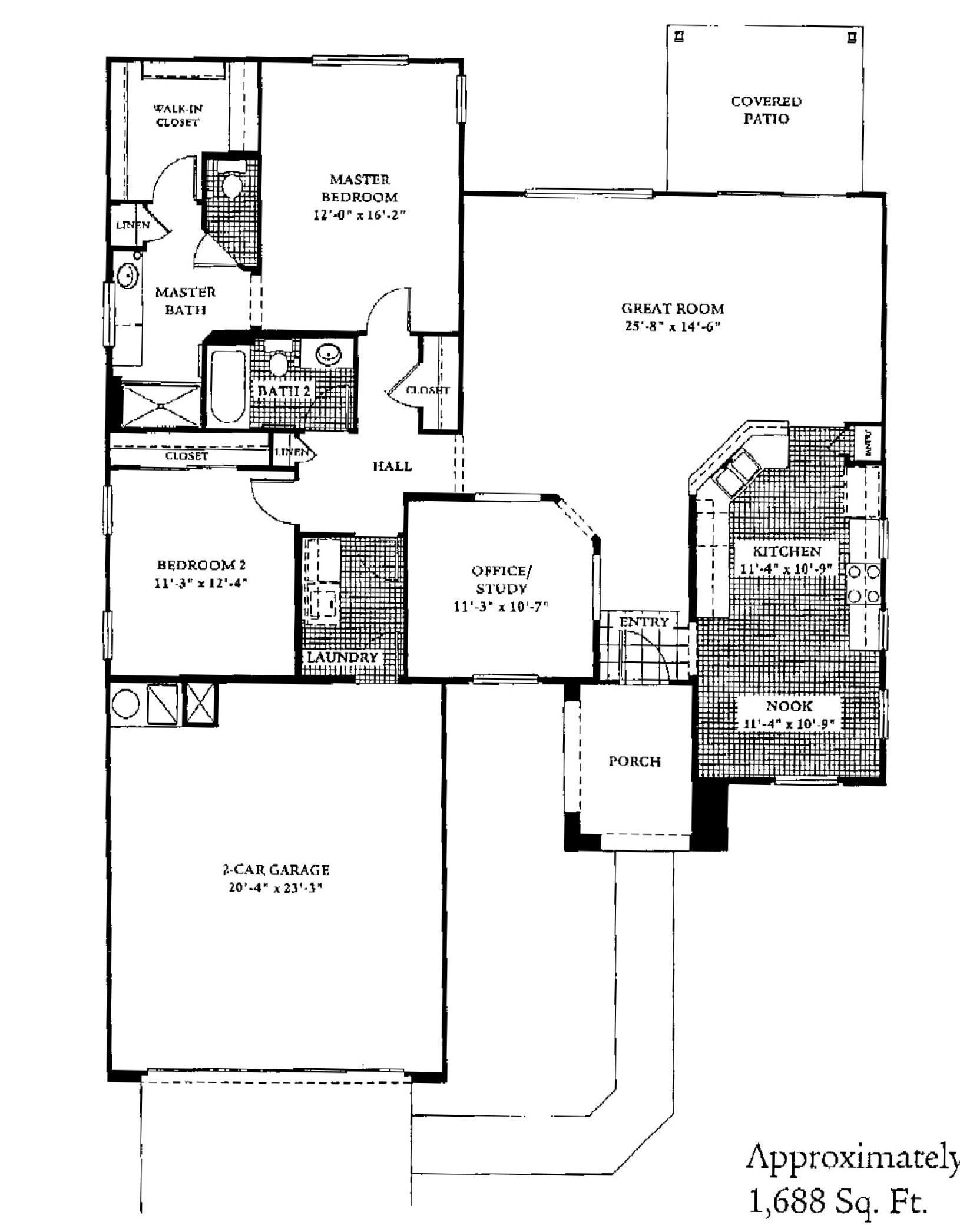 Sun City Grand Sycamore Floor Plan Del Webb Sun City