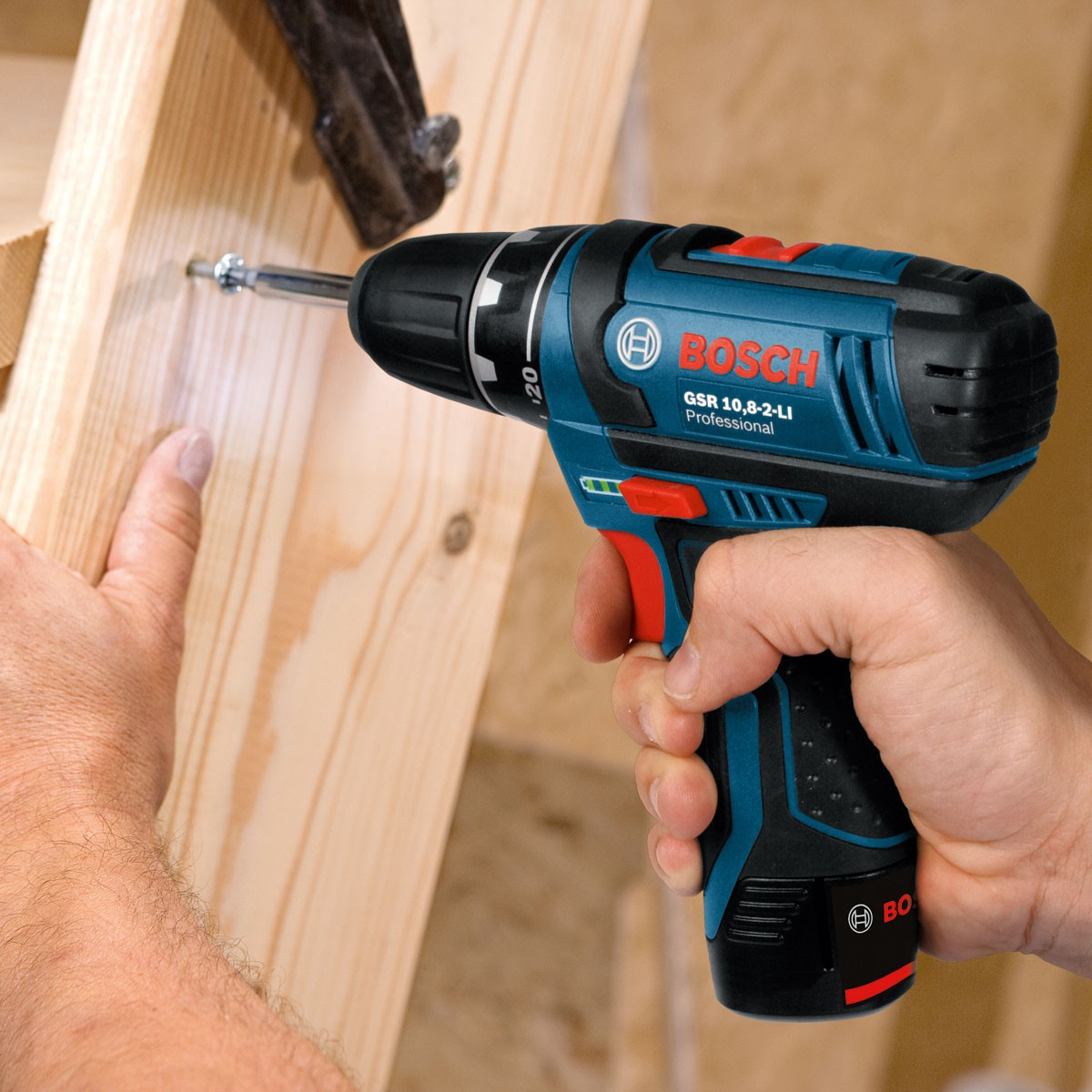 Bosch Gsr 12 Bosch Gop & Gsr 10.8v Multi Cutter & Drill Driver Twin Kit