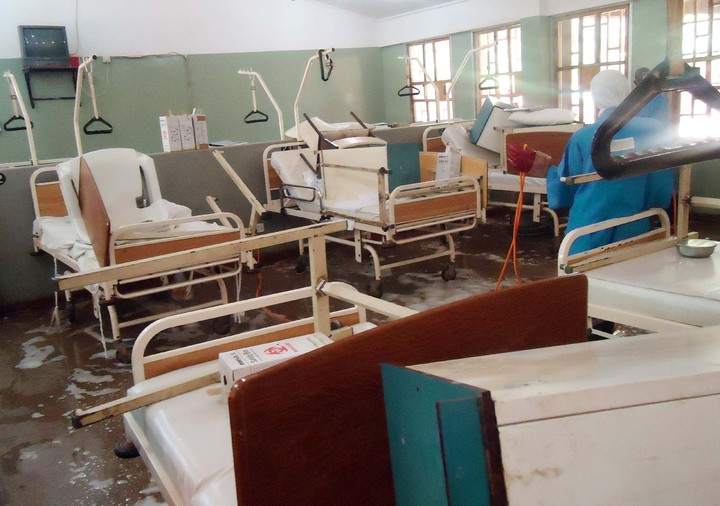 Nigeria hopsital inside wards