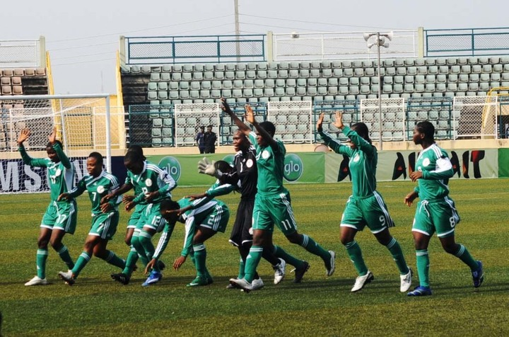 Nigeria under 17 female team