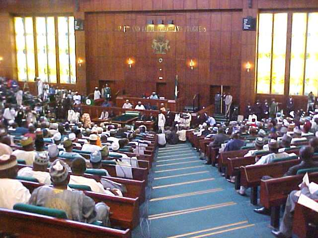 House of Representatives in session