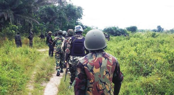 Nigerian army search for missing schoolgirls