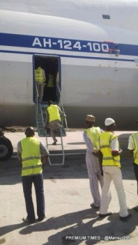 Chad bound Russian plane with arms