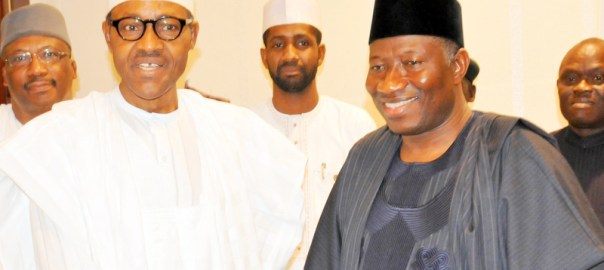 PIC.17. PRESIDENT-ELECT  VISITS PRESIDENT JONATHAN IN ABUJA