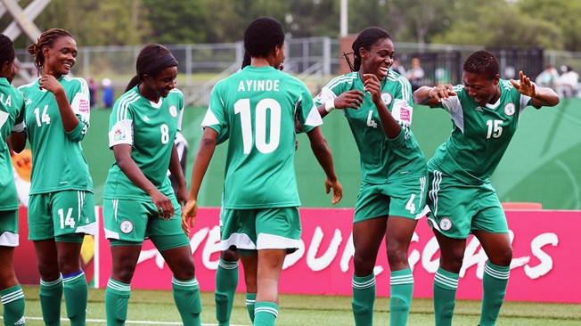 Image result for super falcons of nigerian AWCON 2016