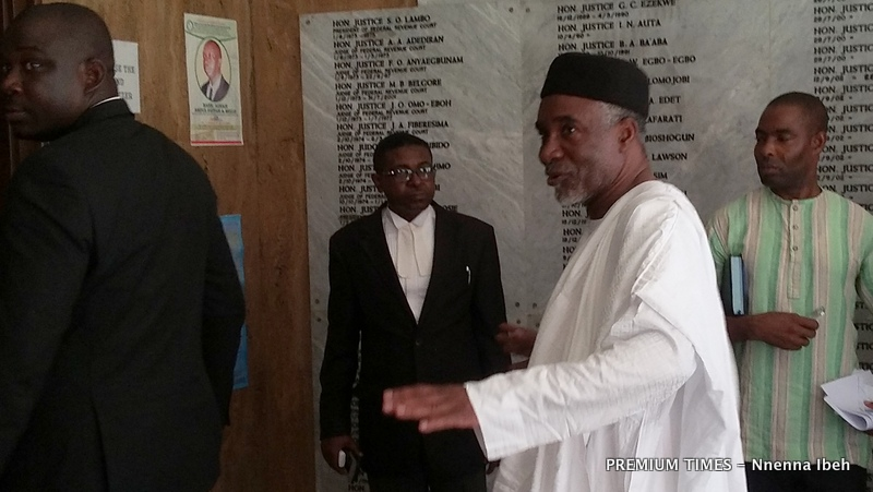 FILE PHOTO: Murtala Nyako at a lobby in the court