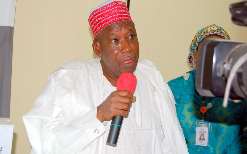 Governor Abdullahi Ganduje; Photo: DailyPost