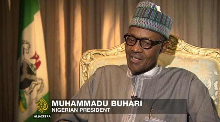Muhammadu Buhari in an Aljazeera Interview