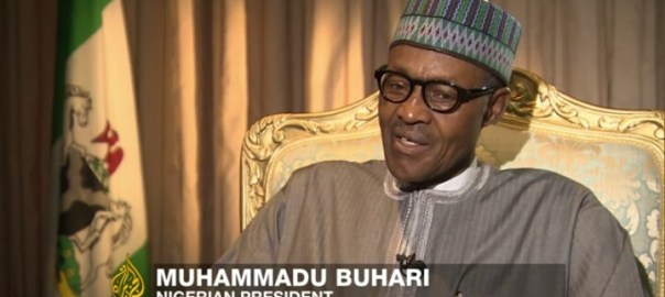 Muhammadu Buhari in an Aljazeera Interview