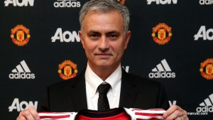 Jose Mourinho on his appointment as Manchester United Manager.  Photo: ManUtd.com