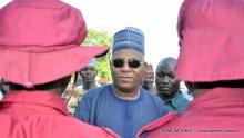 Mr Shettima and members of Vigilante Group of Nigeria