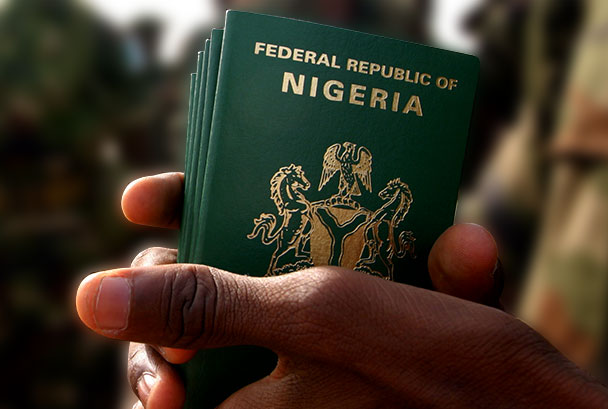 Billedresultat for nigerian passport
