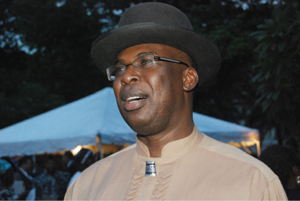 Former Bayelsa State Governor, Timipre Sylva. His aide fears for his safety