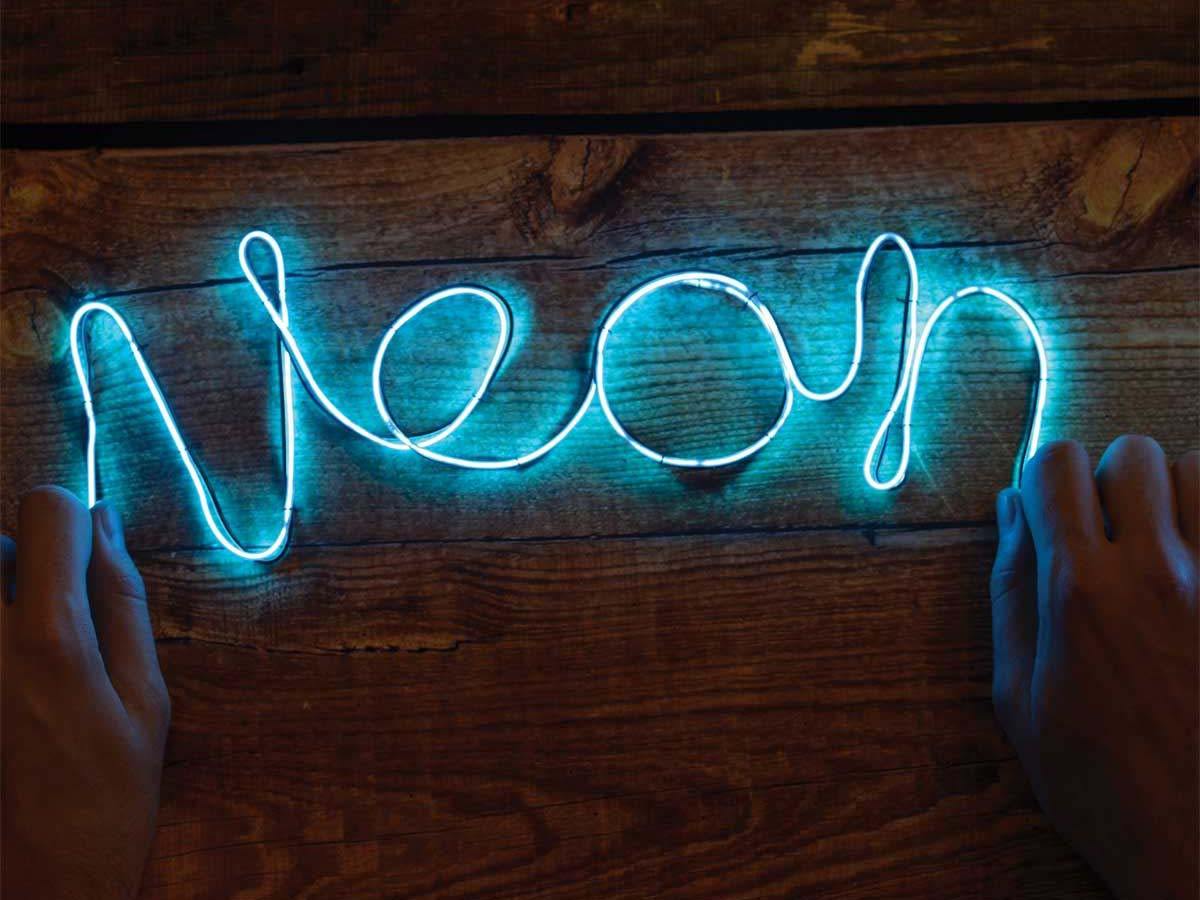 Neon In Interieur : Neon decoration interieur neon party decoration solar led yard