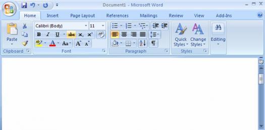 Microsoft Word 2007 Quiz Would You Paas? - ProProfs Quiz - microsoft word