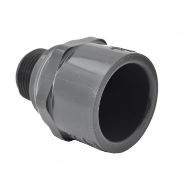 3 4 X 1 Sch 80 Pvc Reducing Male Adapter Mpt X Socket - Ecksofa 2 80 X 1 80