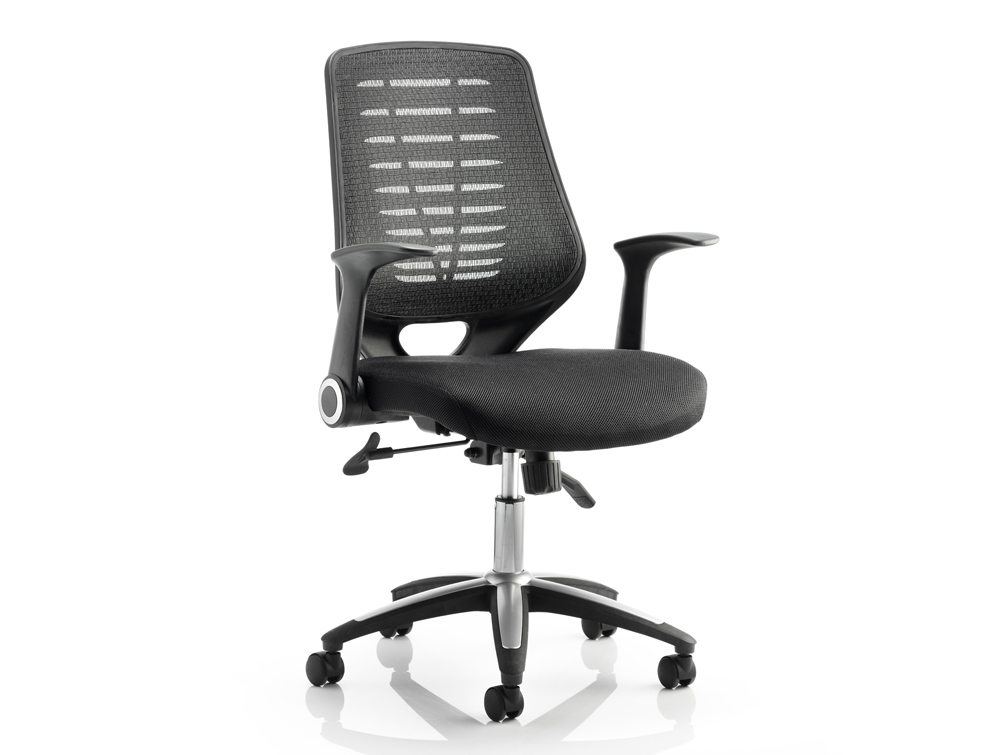 Dynamo Relay Task Chair With Arms Radius Office