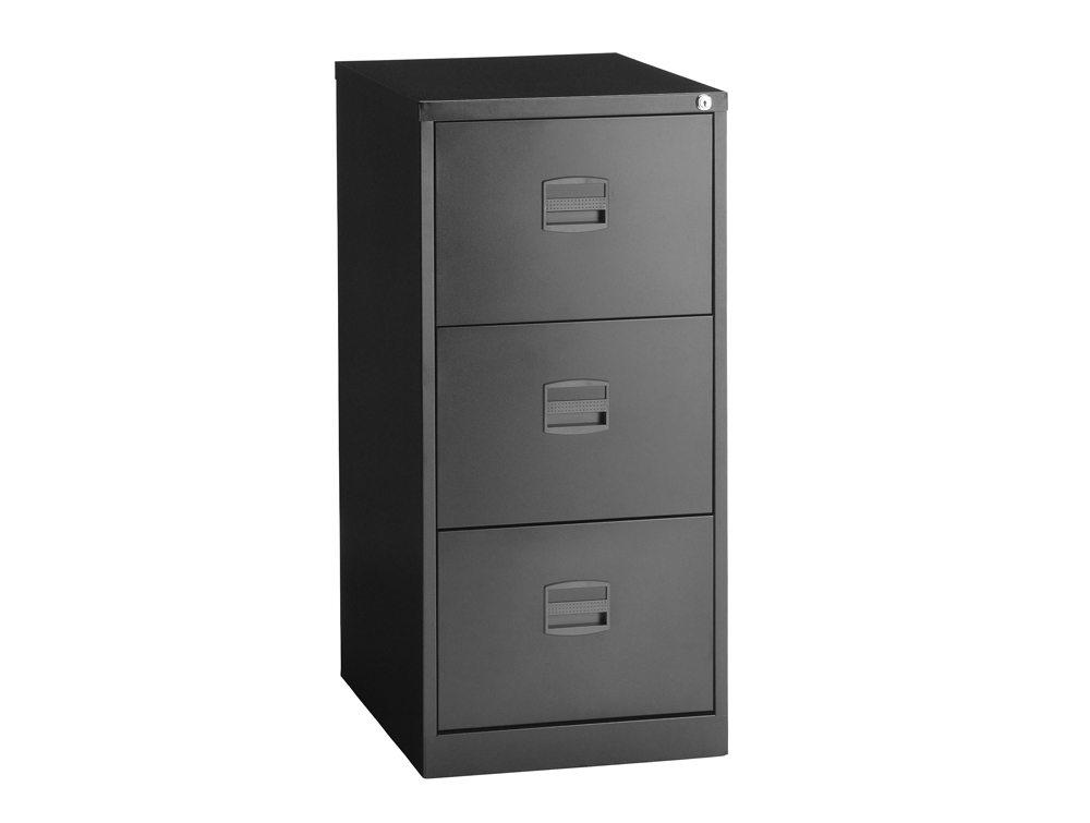 Trexus Filing Cabinet Steel Lockable 3