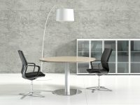 Crystal Glass Executive Desk - Radius Office UK