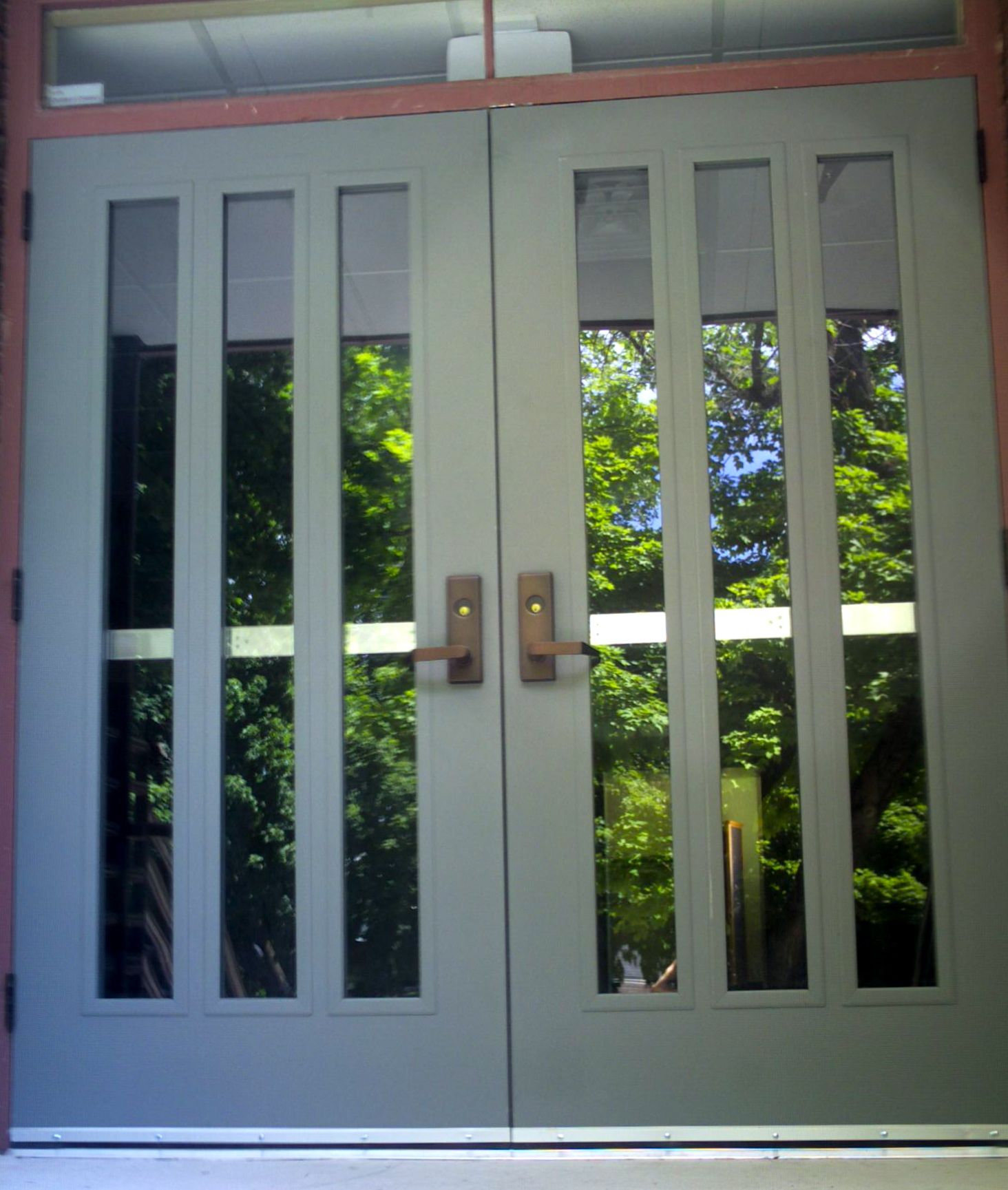 Entrance Doors Commercial Exterior Metal Doors