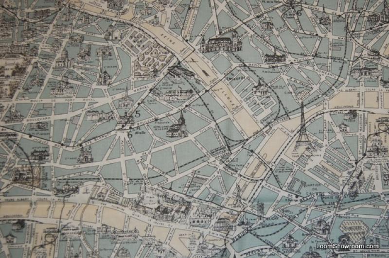 Street map of paris