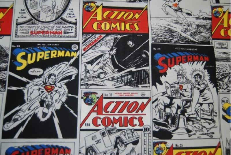 T95 Action Comic Book Cover Superman Comic Book Super Hero
