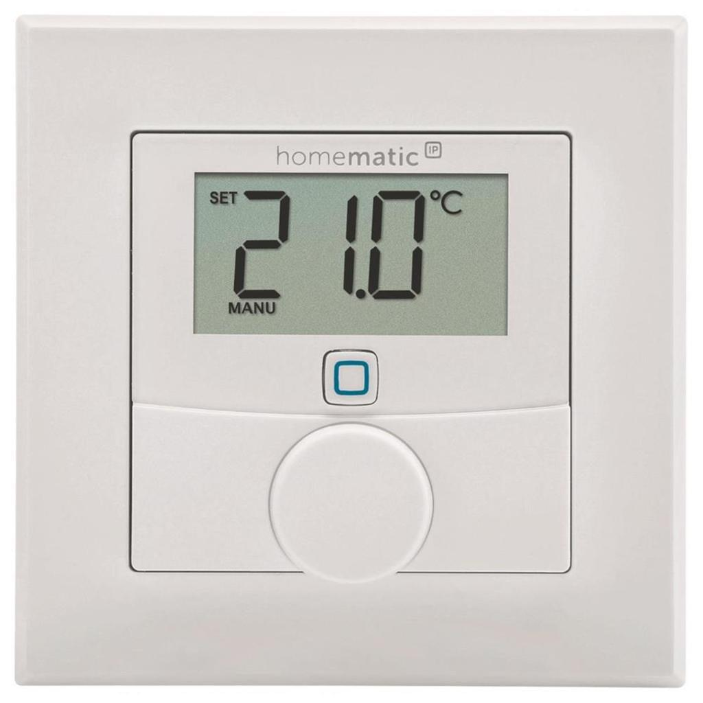Smart Home Wandthermostat Telekom Smart Home Wandthermostat Homematic Ip Komponente