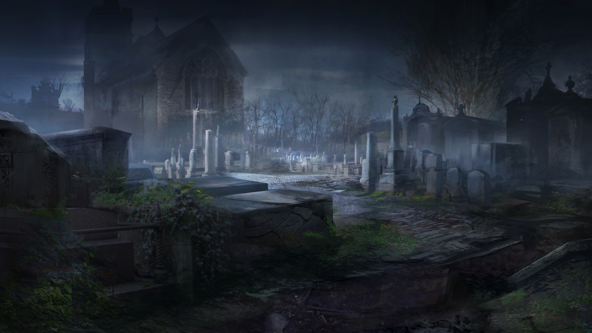 Gothic Fall Wallpaper Alone In The Dark Illumination Thoughts And Opinions On