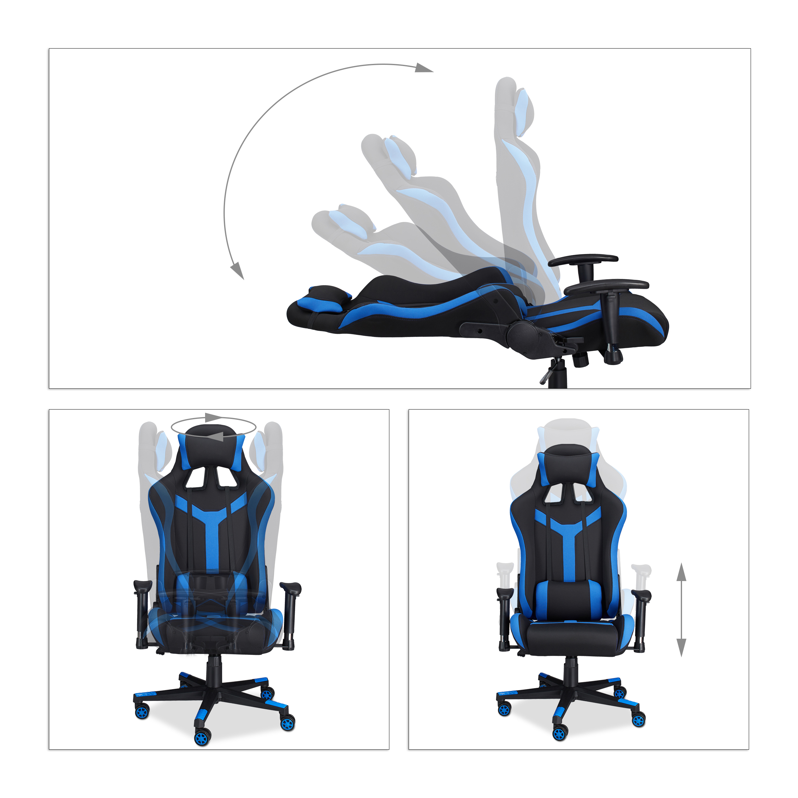 Stuhl Gamer Gaming Stuhl Xr10 Bürostuhl Bis 120kg Gamer Chair