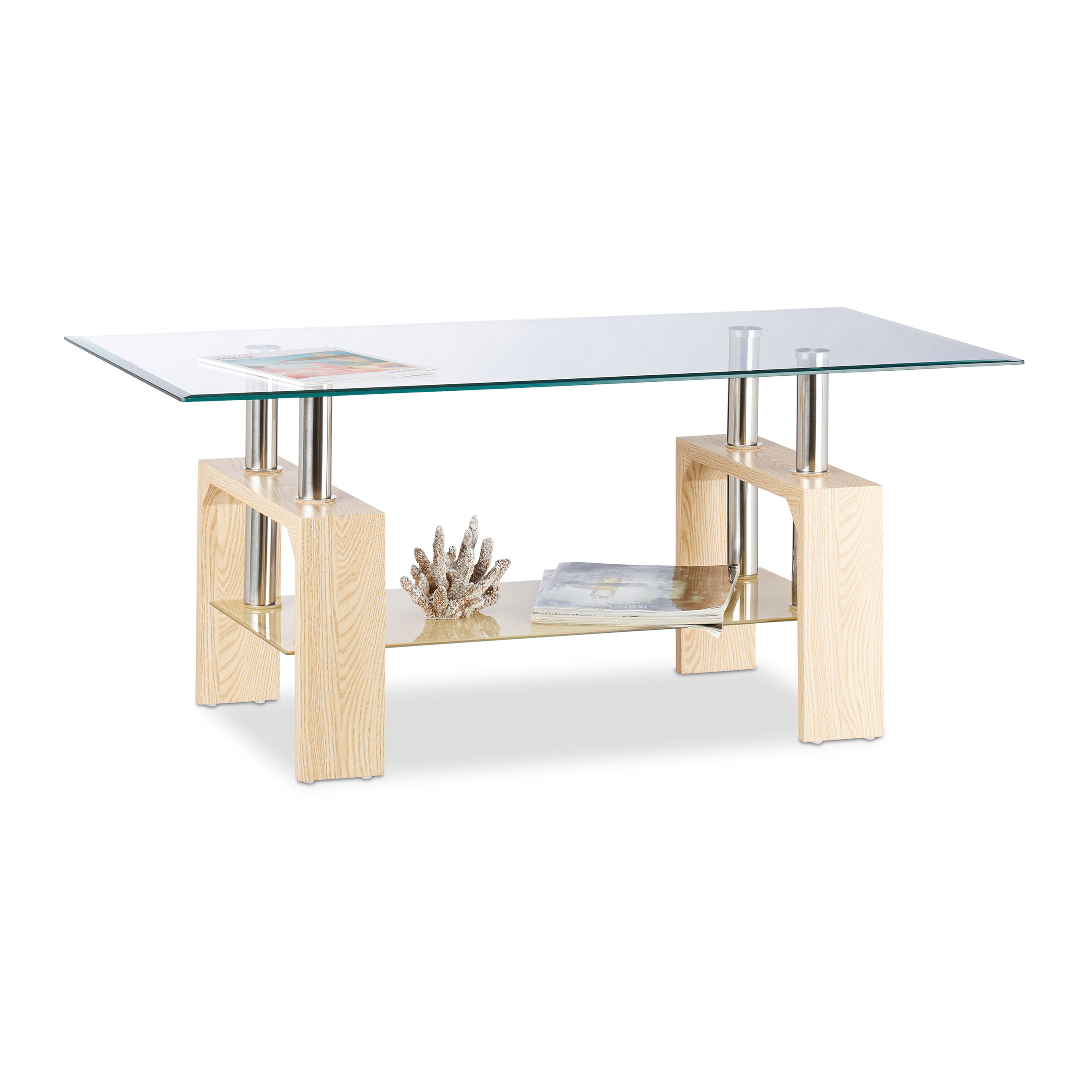 Table De Salon Verre Détails Sur Table Basse Verre Table De Salon Pieds Bois Mdf Table Verre Transparent Pause