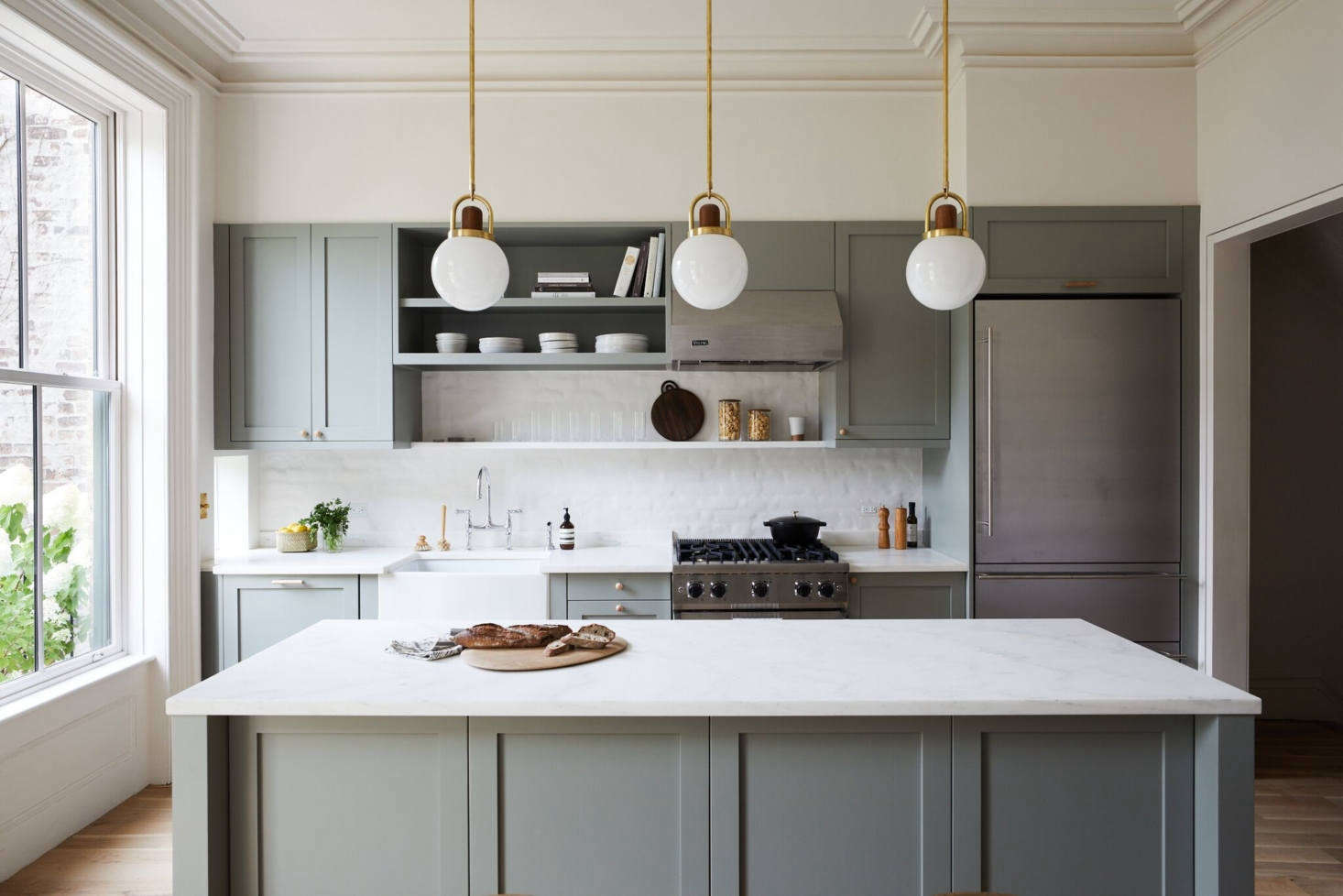 Steal This Look A Modern Brooklyn Kitchen Ikea Cabinets Included Remodelista