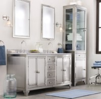 framed medicine cabinets brushed nickel