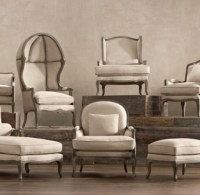Restoration Hardware Style Sofa The Wells Collection ...