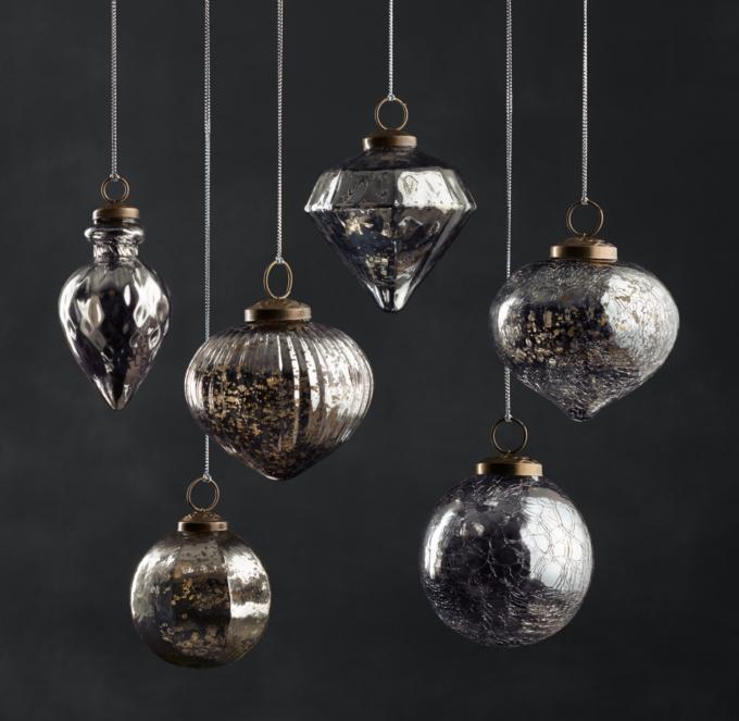restoration hardware ornaments