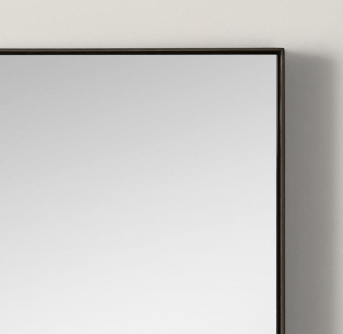 Metal Floating Mirror