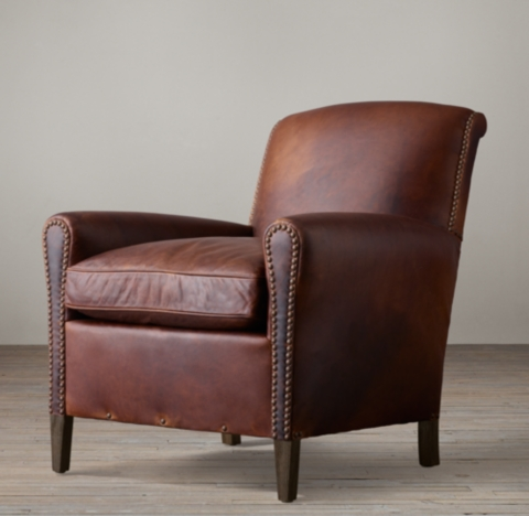 Gerrard Leather Club Chair